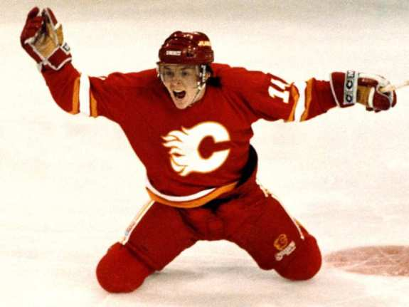 Theo Fleury Goal Celebration