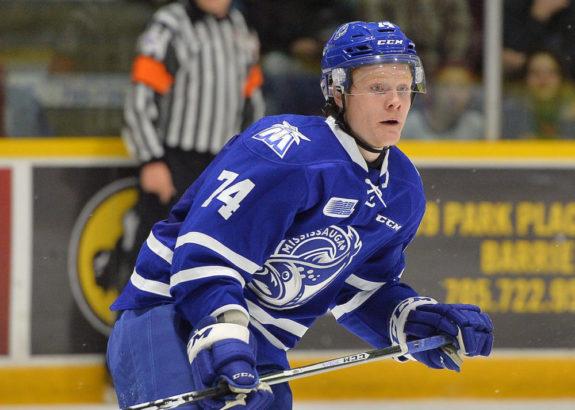 Owen Tippett, Mississauga Steelheads, OHL, 2017 NHL Draft