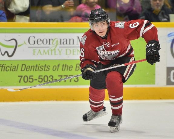 Ryan Merkley, OHL, Guelph Storm