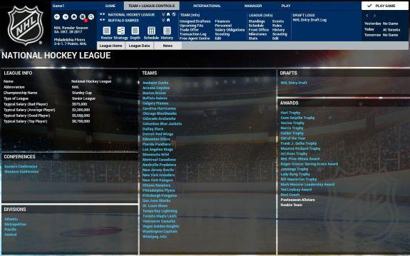 League info FHM4
