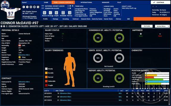 Player profile FHM4