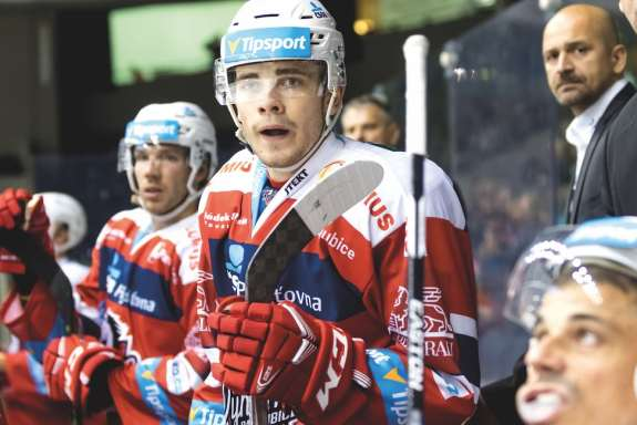 Martin Kaut of HC Dynamo Pardubice