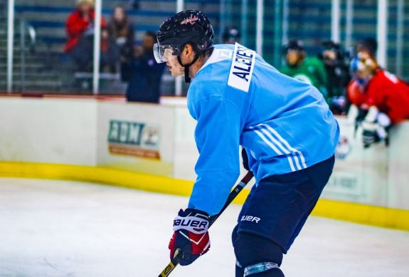 Александр Алексеев Вашингтон хоккеист