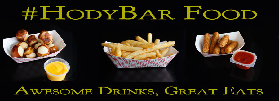 Welcome to the #HodyBar and Grill!
