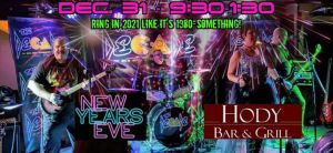 "An ""MTV Rock"" New Year's Eve Bash at The Hody with The Decade! @ Hody Bar and Grill in Middleton, WI 