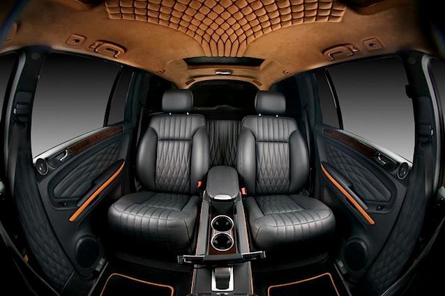 Vilner's Diamond-Studded Mercedes GL