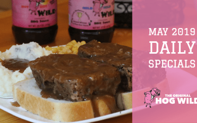 Daily Specials May 2019