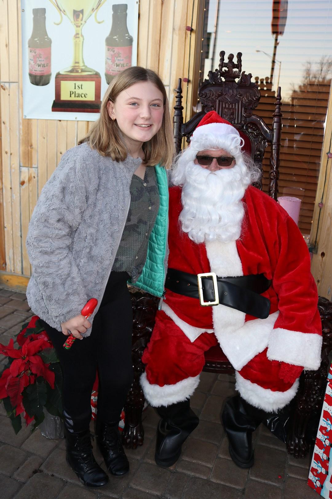 The Original Hog Wild Santa Visit 2019 16