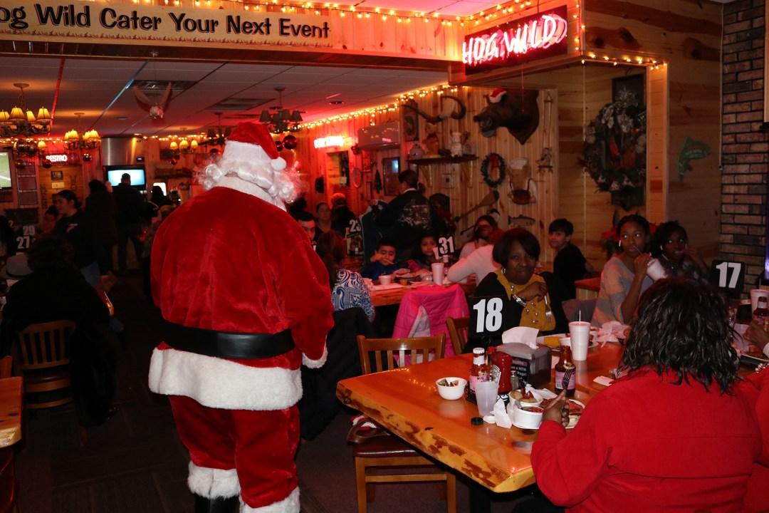 The Original Hog Wild Santa Visit 2019 7