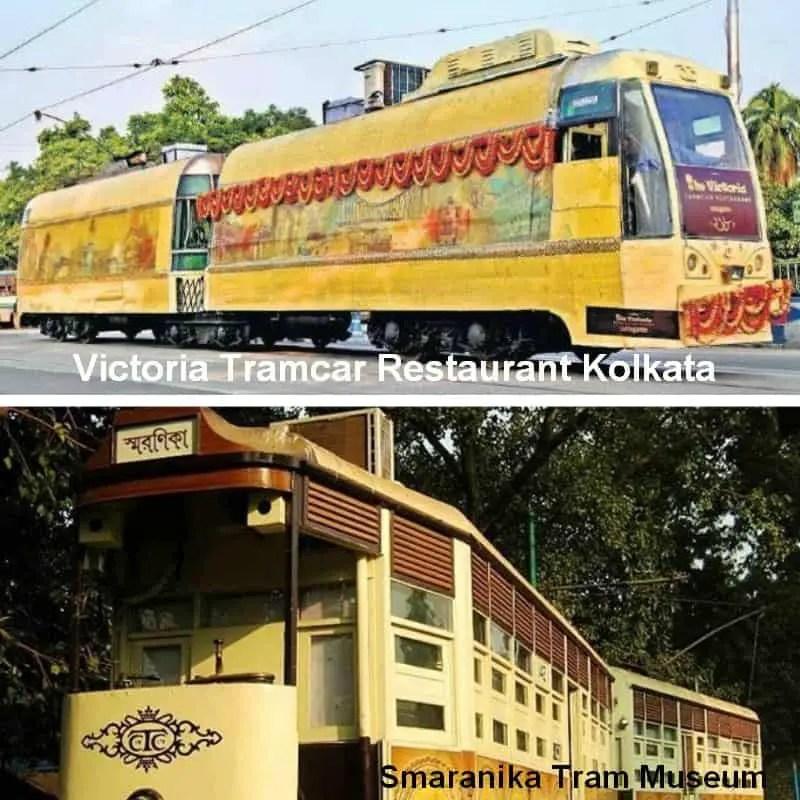 Tram restaurant in Kolkata
