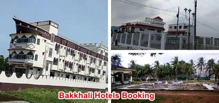 bakkhali hotels booking