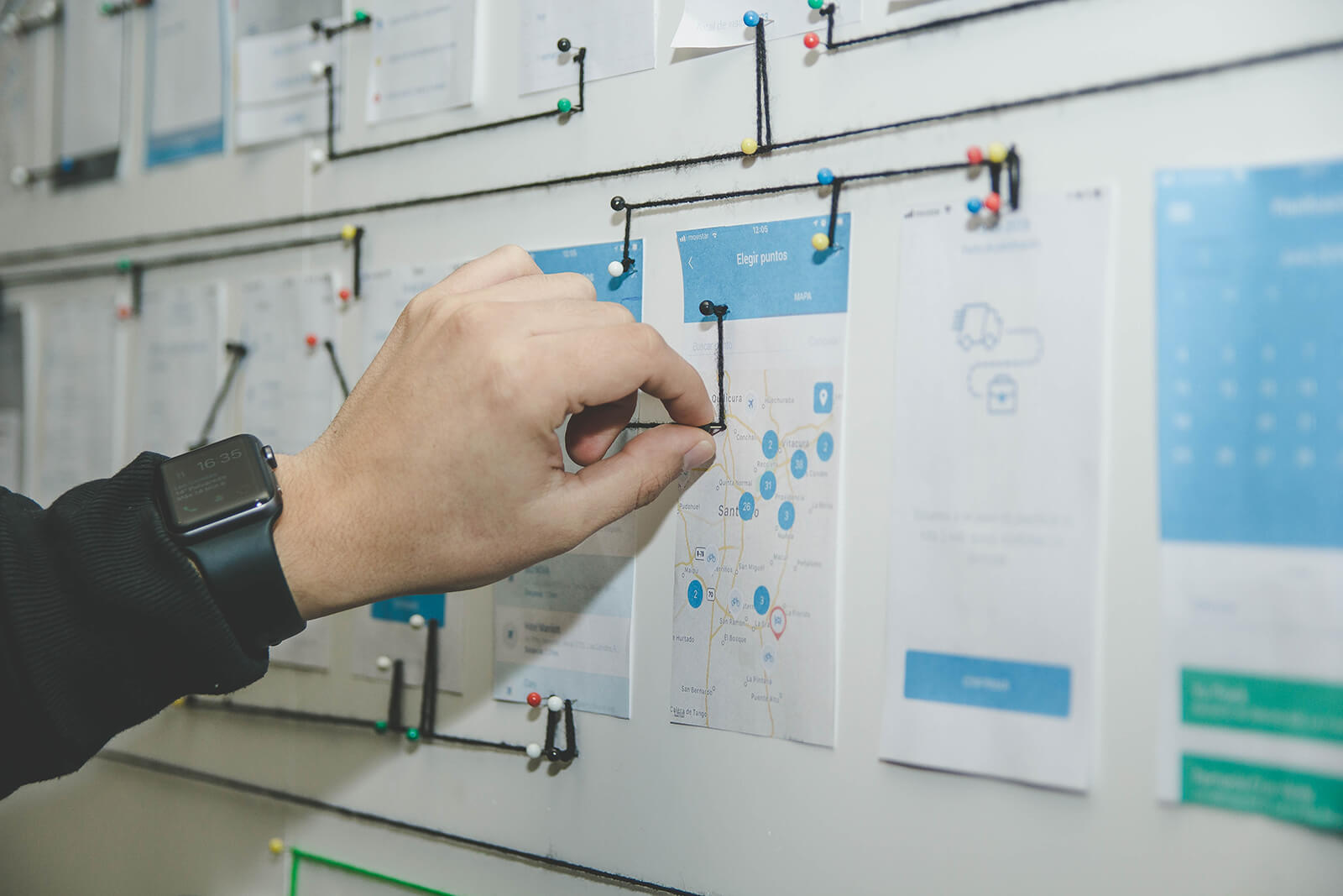 Mapping the customer experience to your own custom design