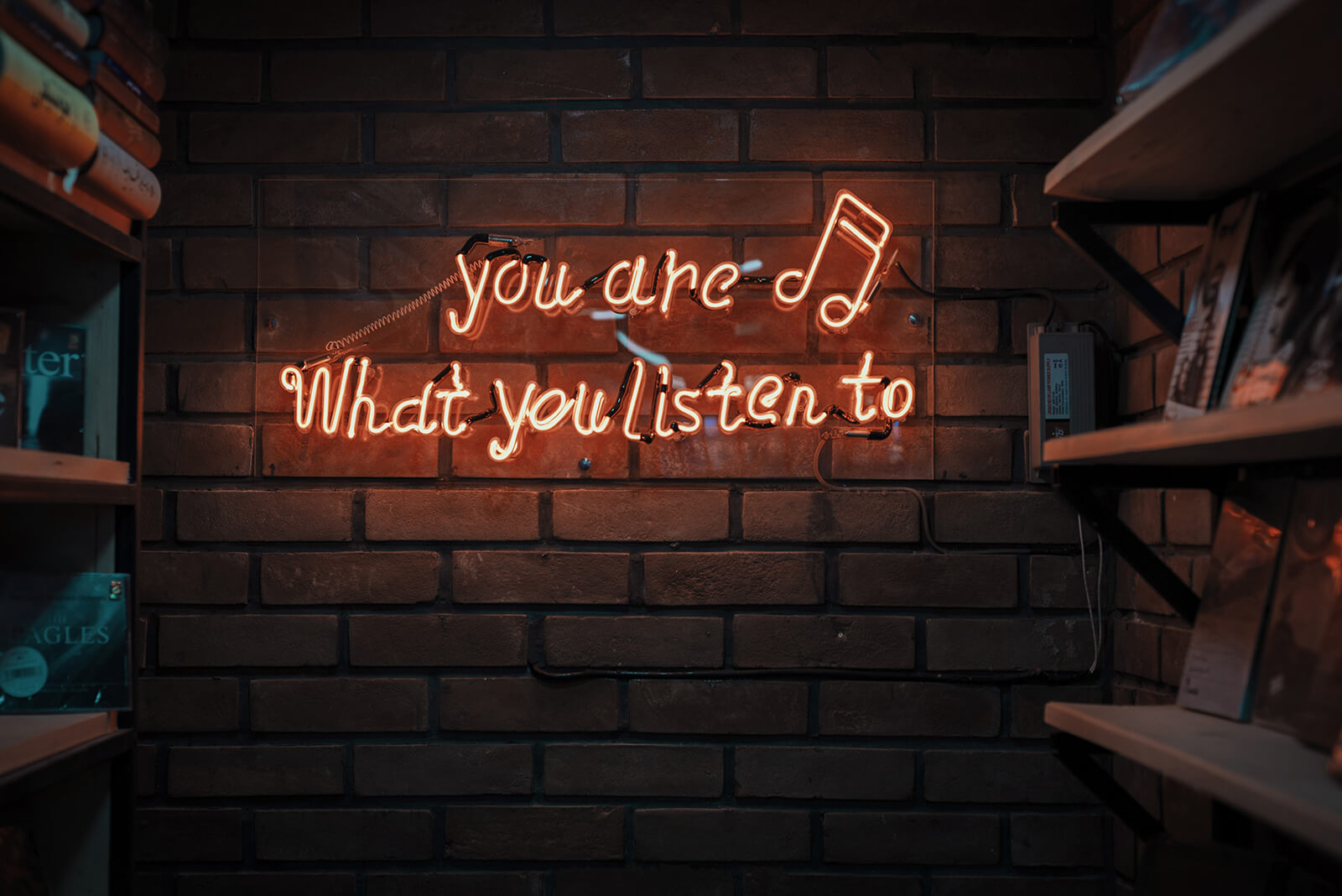 You are what you listen to musical quote