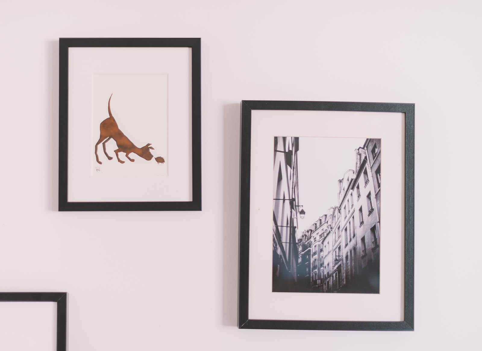 Frame your travel photos and mount them on the wall