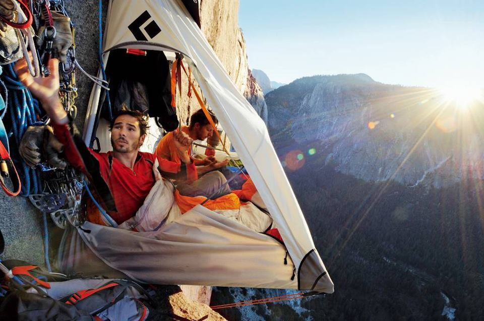 Cliffside camping. Yes, some new travel bloggers are doing some awesome shit. That's why they deserve the Best New Travel Blog Award.