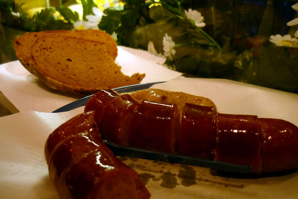 First time in Austria? Be sure to eat a Frankfurter from a Würstlstand in Vienna