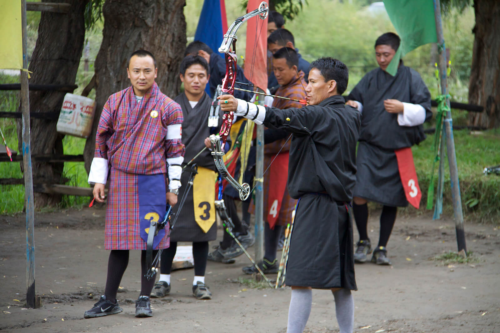 For an offbeat Bhutan experience be sure to visit an archery competition