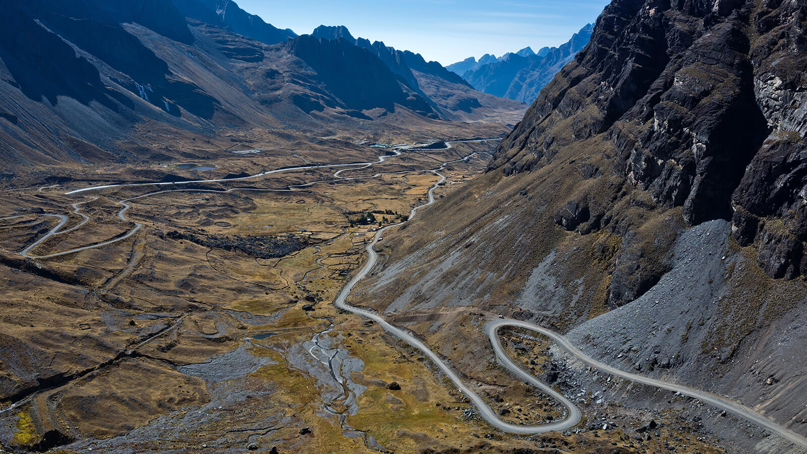 You know you are in Bolivia when you encounter some of the world's most dangerous mountain roads