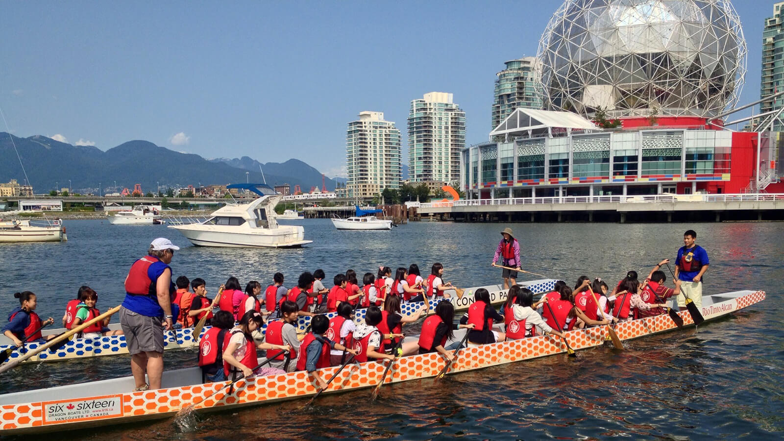 Vancouver Dragon Boat Festival is one of the top 5 summer festivals in Canada