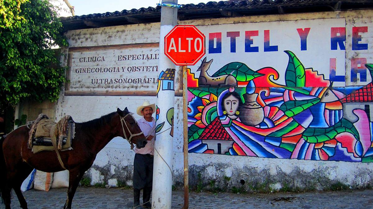 El Salvador street art in La Palma