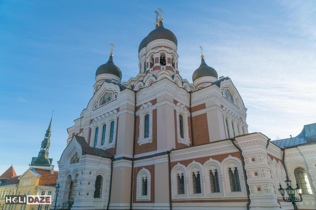 Alexander Nevsky Cathedral in Tallinn, Estonia