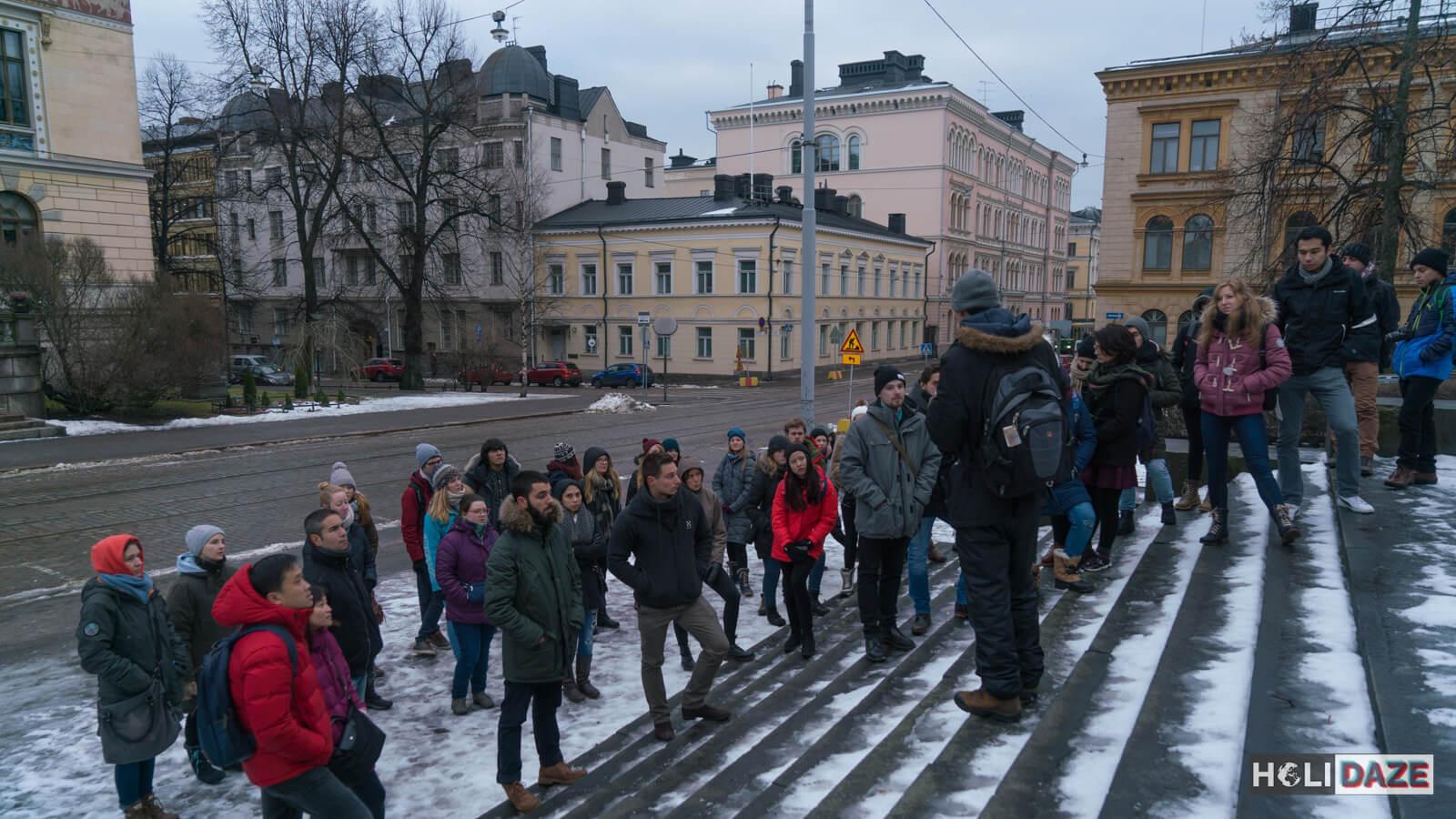 Helsinki free walking tour!
