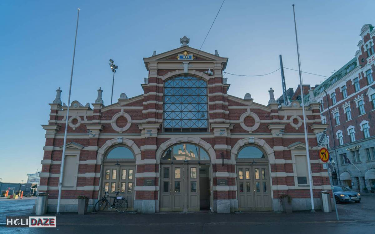 Helsinki's Old Market Hall is one of the must-visit destinations for shopping/eating while exploring Helsinki