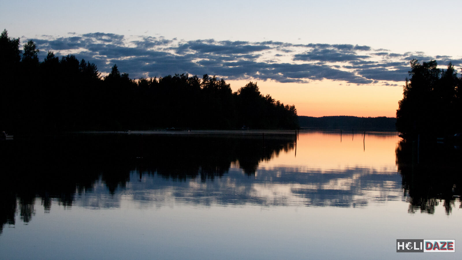 Lake Saimaa, the largest lake in Finland and one of the largest lakes in the world