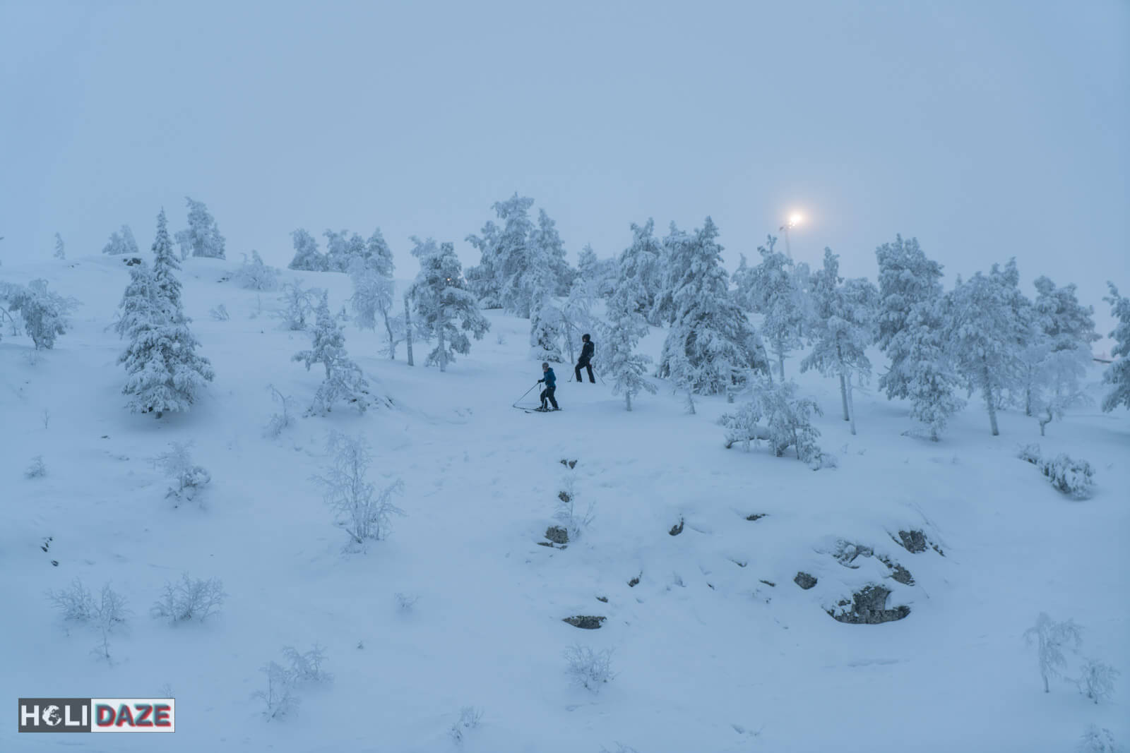 Skiing in Lapland, the far northern part Finland up in the Arctic Circle, was an experience that proved travel is priceless