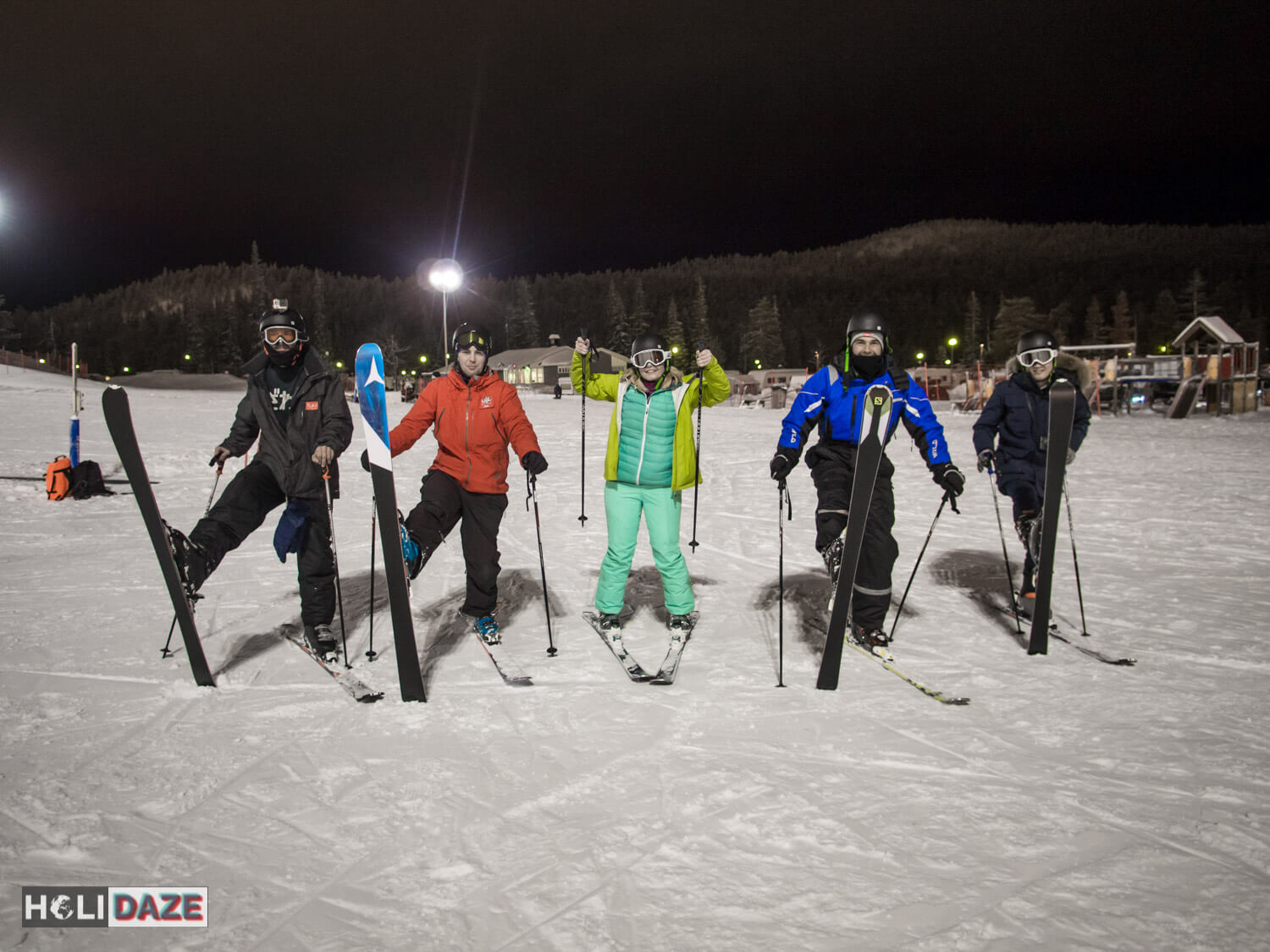 Skiing in Ruka-Kuusamo, Finland, up in the Arctic Circle was an experience that proved travel is priceless