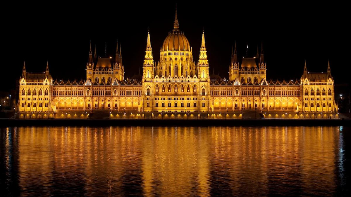Parliament House in Budapest, Hungary