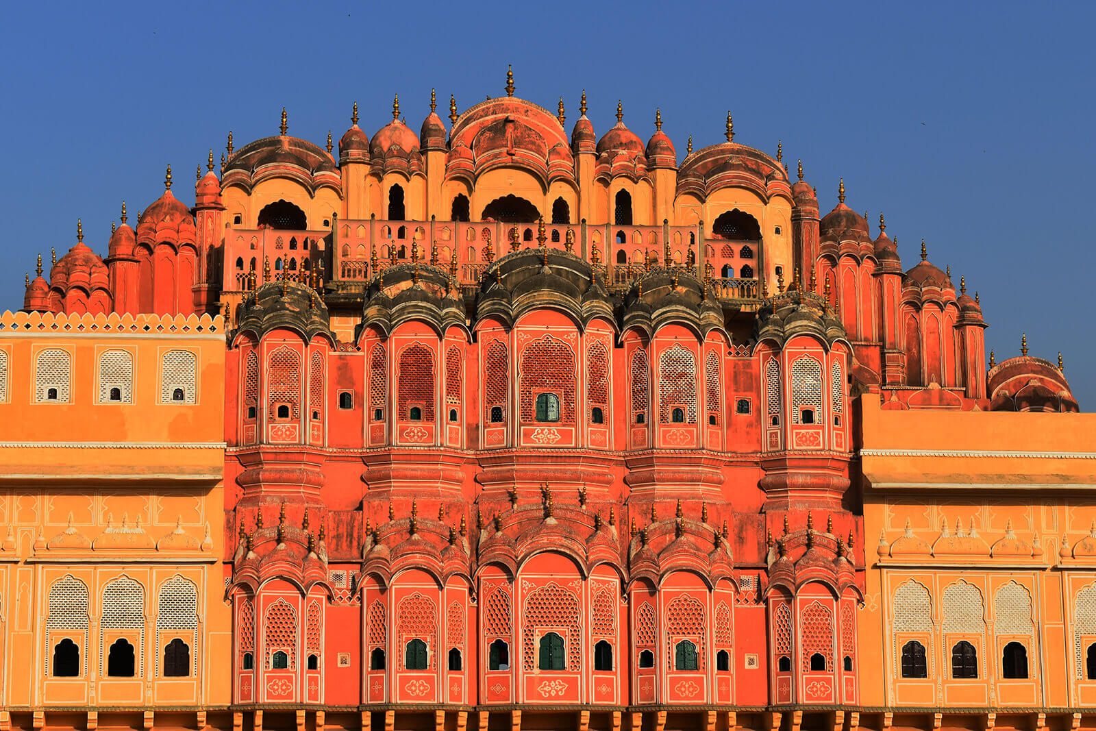 Hawa Mahal, also known as the Wind Palace, is one of the obligatory sights to visit in Jaipur, the Pink City of India