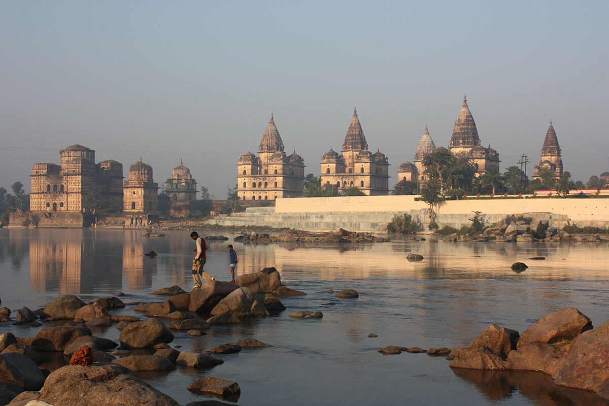 Orchha dates back to 1501 and is full of palaces and shrines. This combined with a lack of tourists makes it one of the amazing off the beaten path destinations destinations in an offbeat India