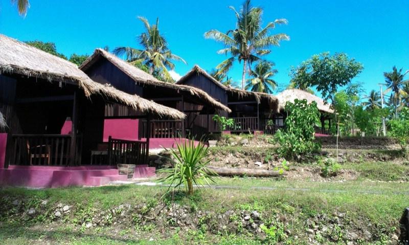 Namaste Bungalows on Nusa Pendia island, Bali's hidden paradise