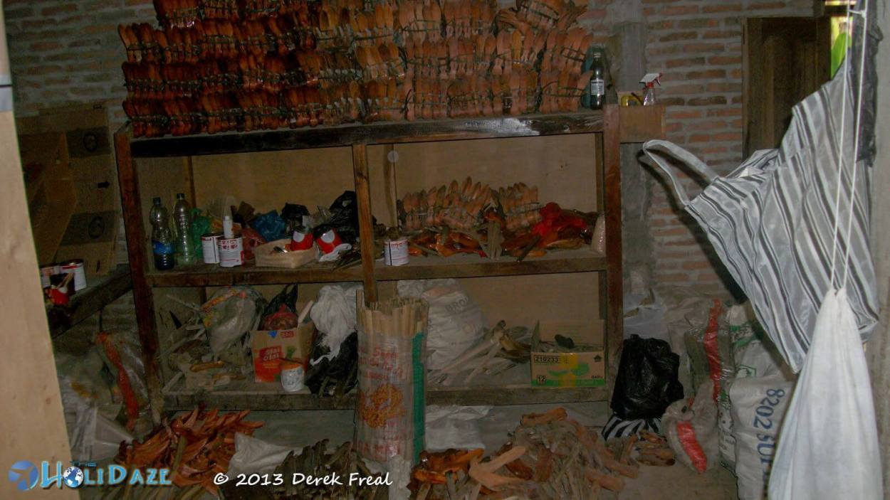 The Keris Store Room