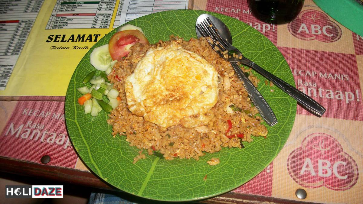 Indonesian Food Cheat Sheet: Nasi Goreng Ayam Spesial in Jakarta