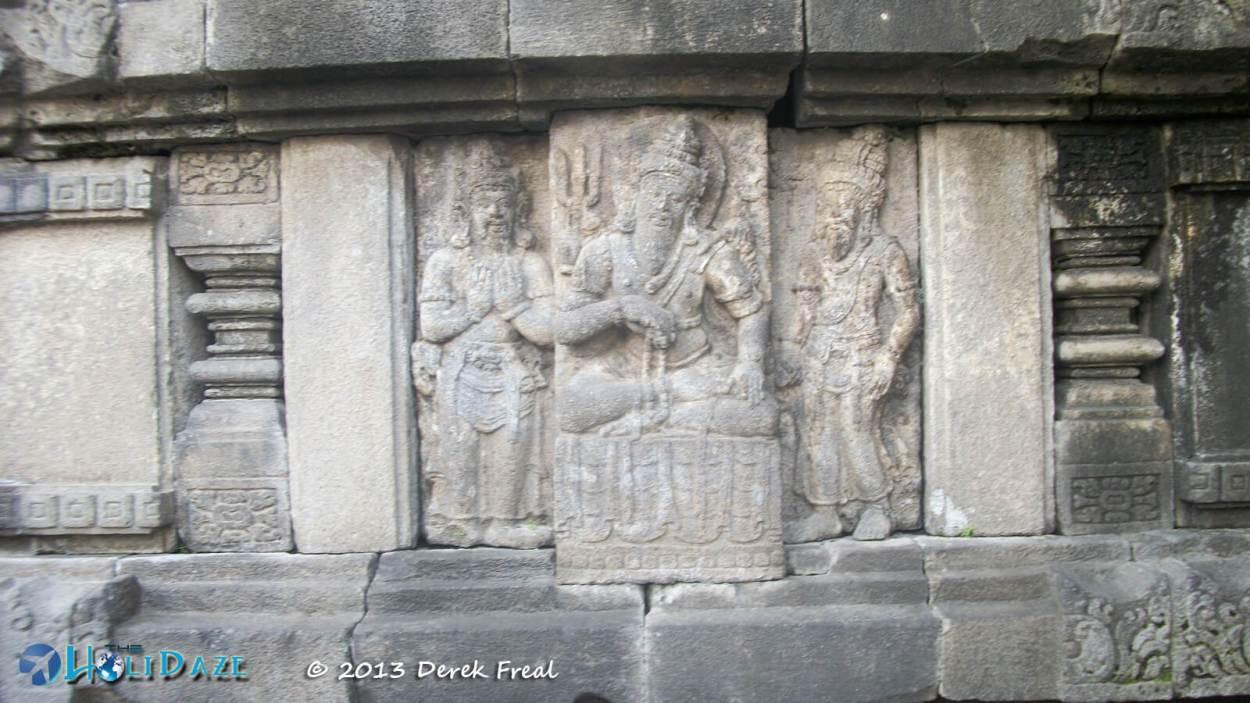 Bas-Relief At Prambanan
