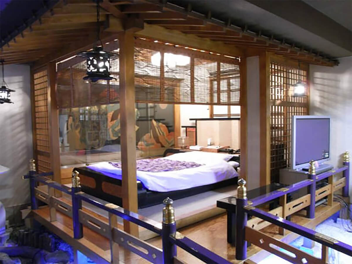 Love hotels are common in neighborhoods with active nightlife, like Shibuya in Tokyo