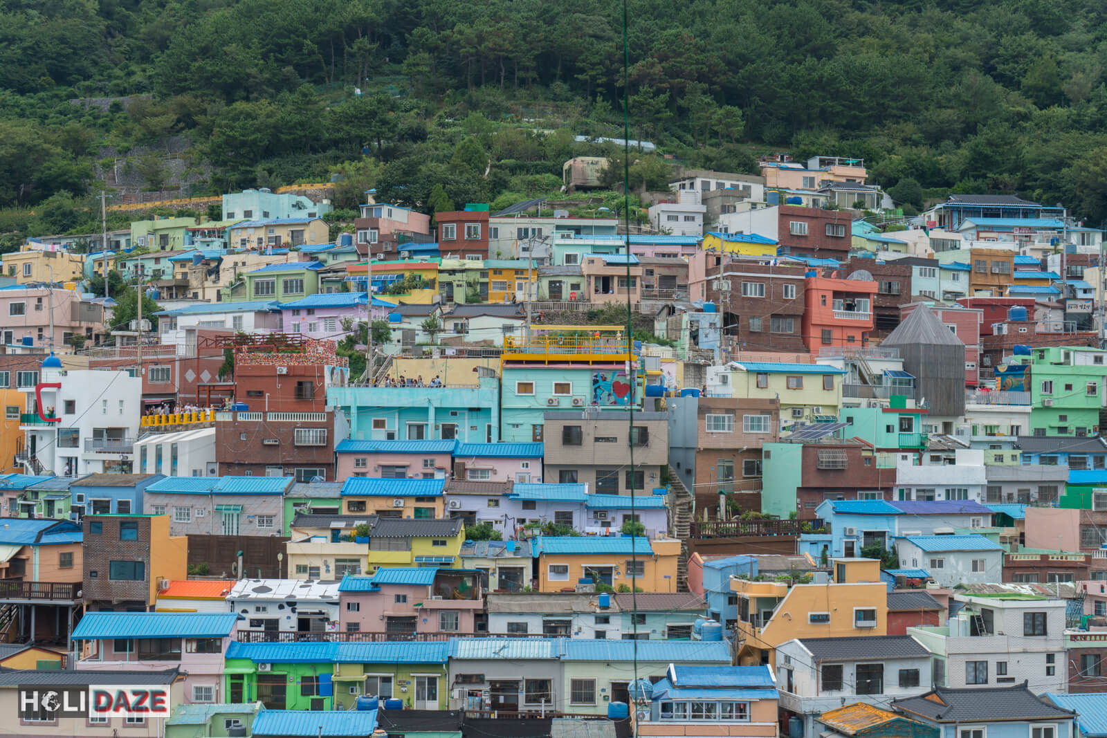 The colorful Gamcheon Culture Village is one of the must visit destinations in Busan, South Korea