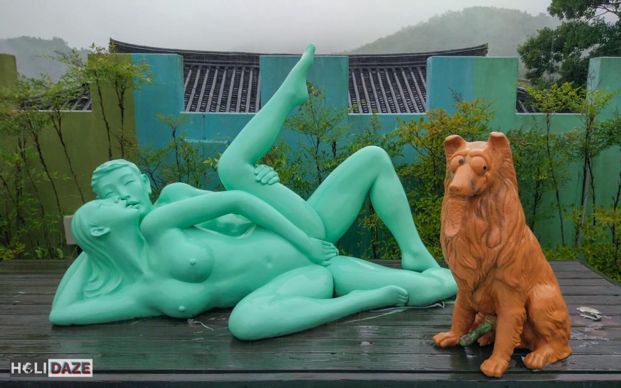 Yet another mildly disturbing scene found at the Sex Museum Gyongju in Korea