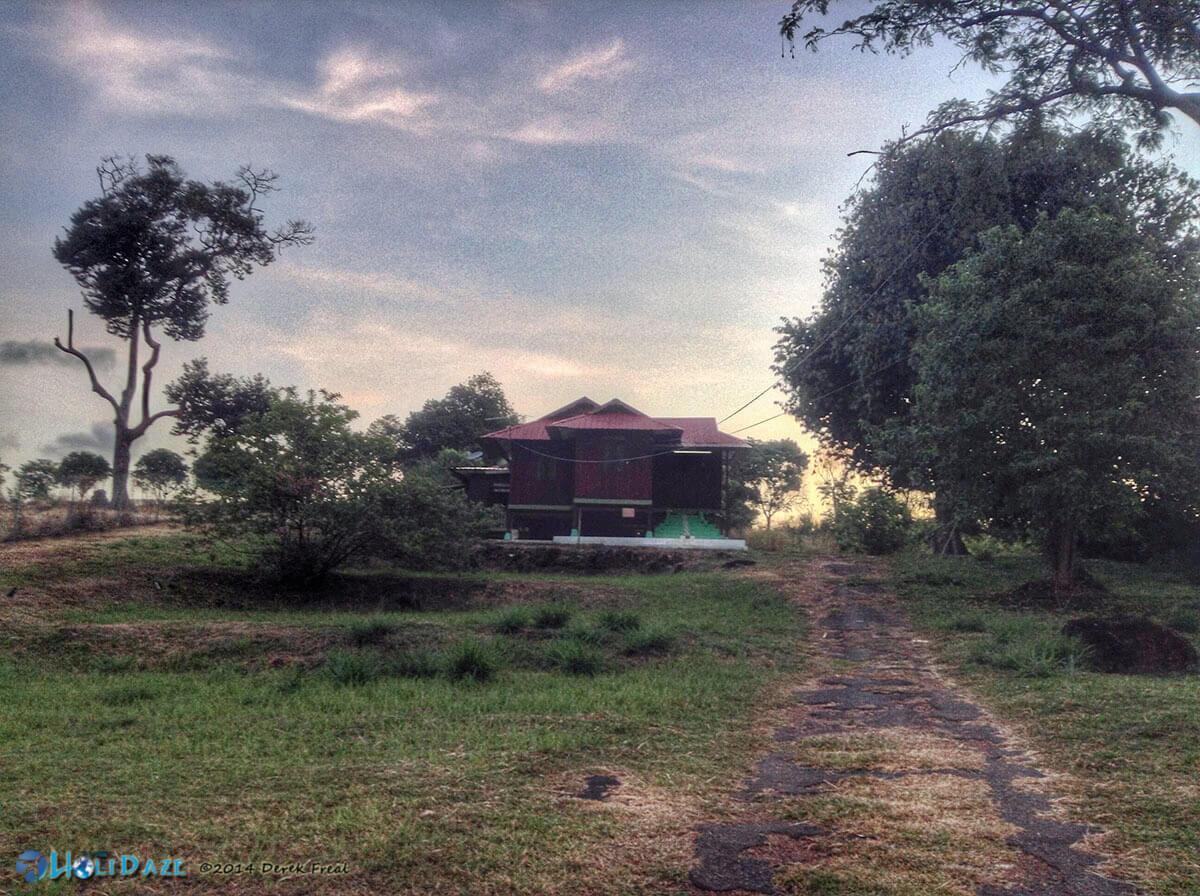 Housesitting an old traditional Malay kampung house