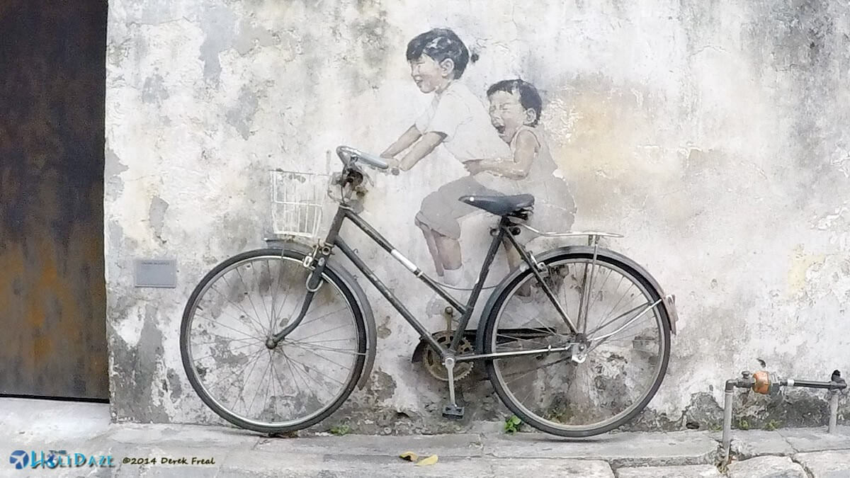 3D street art in Penang, Malaysia