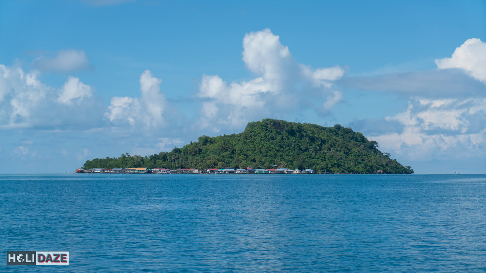Mabul Island off the coast of Semporna, Sabah -- a great place for scuba diving