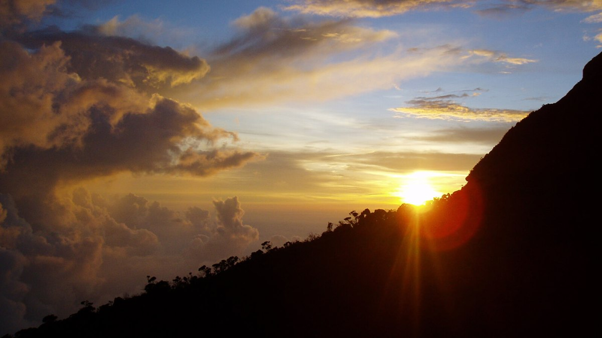 Watching the sunset from Laban Rata, the halfway point when climbing Mount Kinabalu, is a view you will never forget
