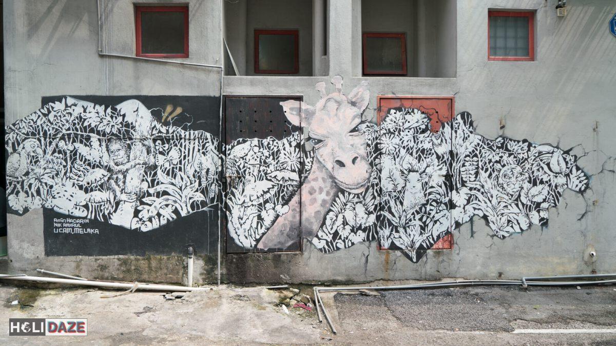 Shah Alam street art near Kuala Lumpur, Malaysia