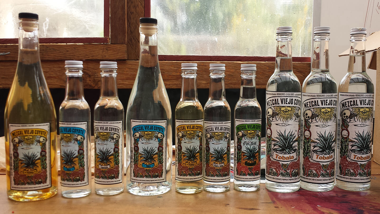 Mezcal is another of the unique traditional alcoholic beverages to try when traveling