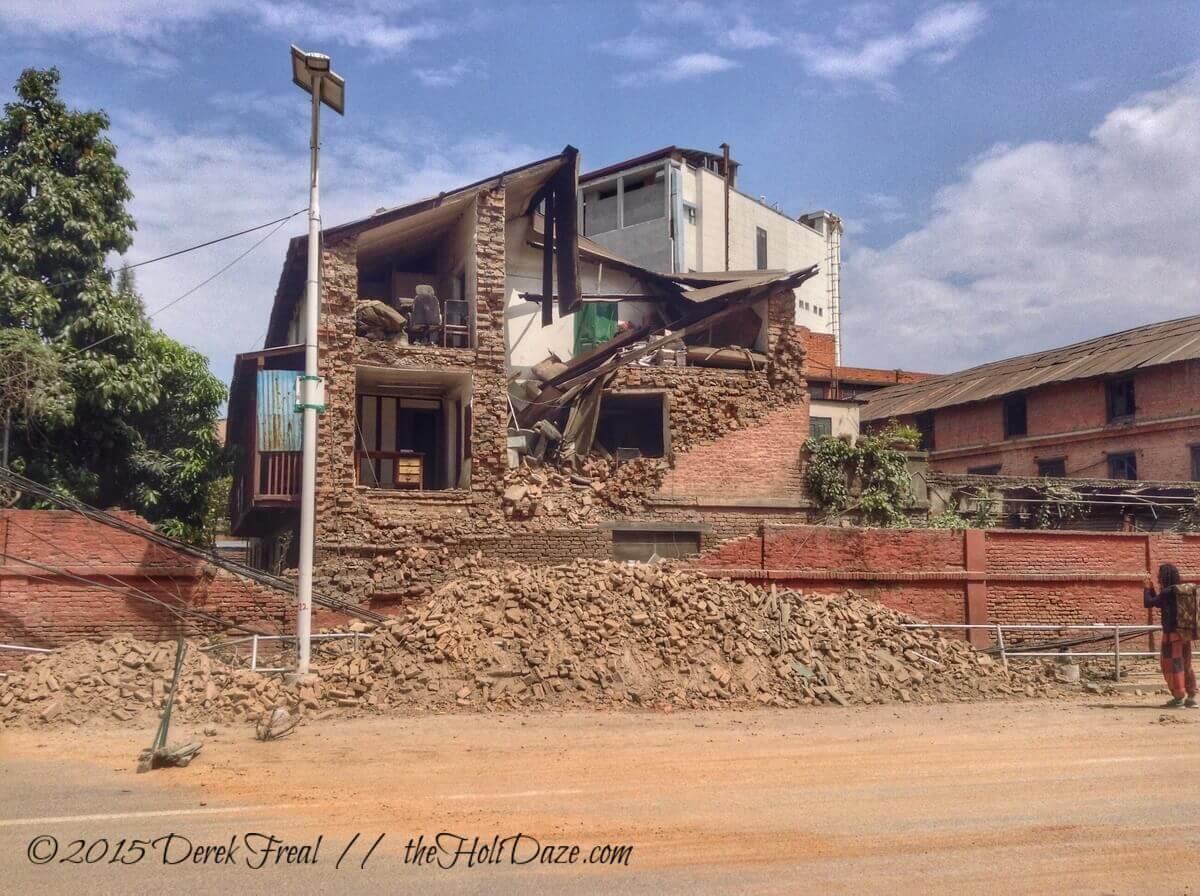 More Kathmandu earthquake damage