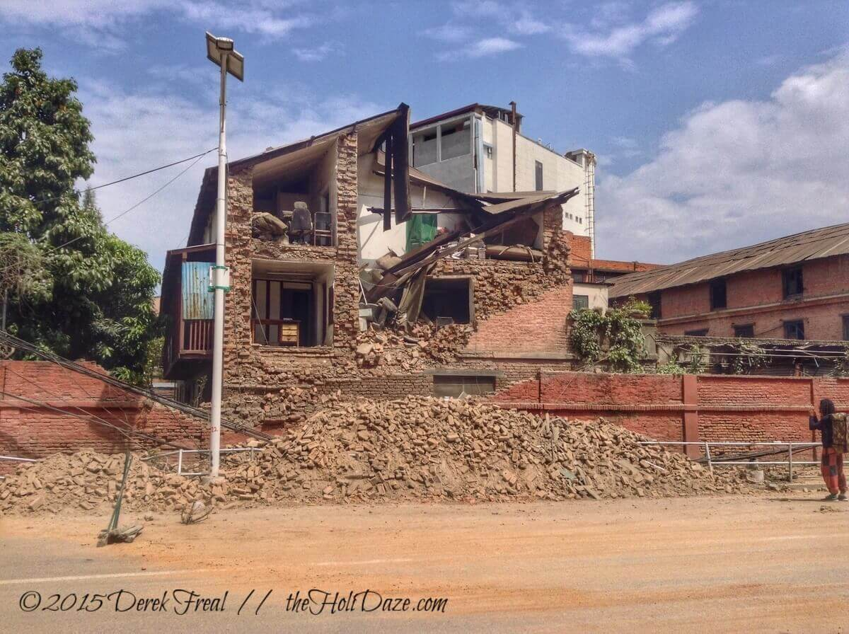 More Kathmandu earthquake damage