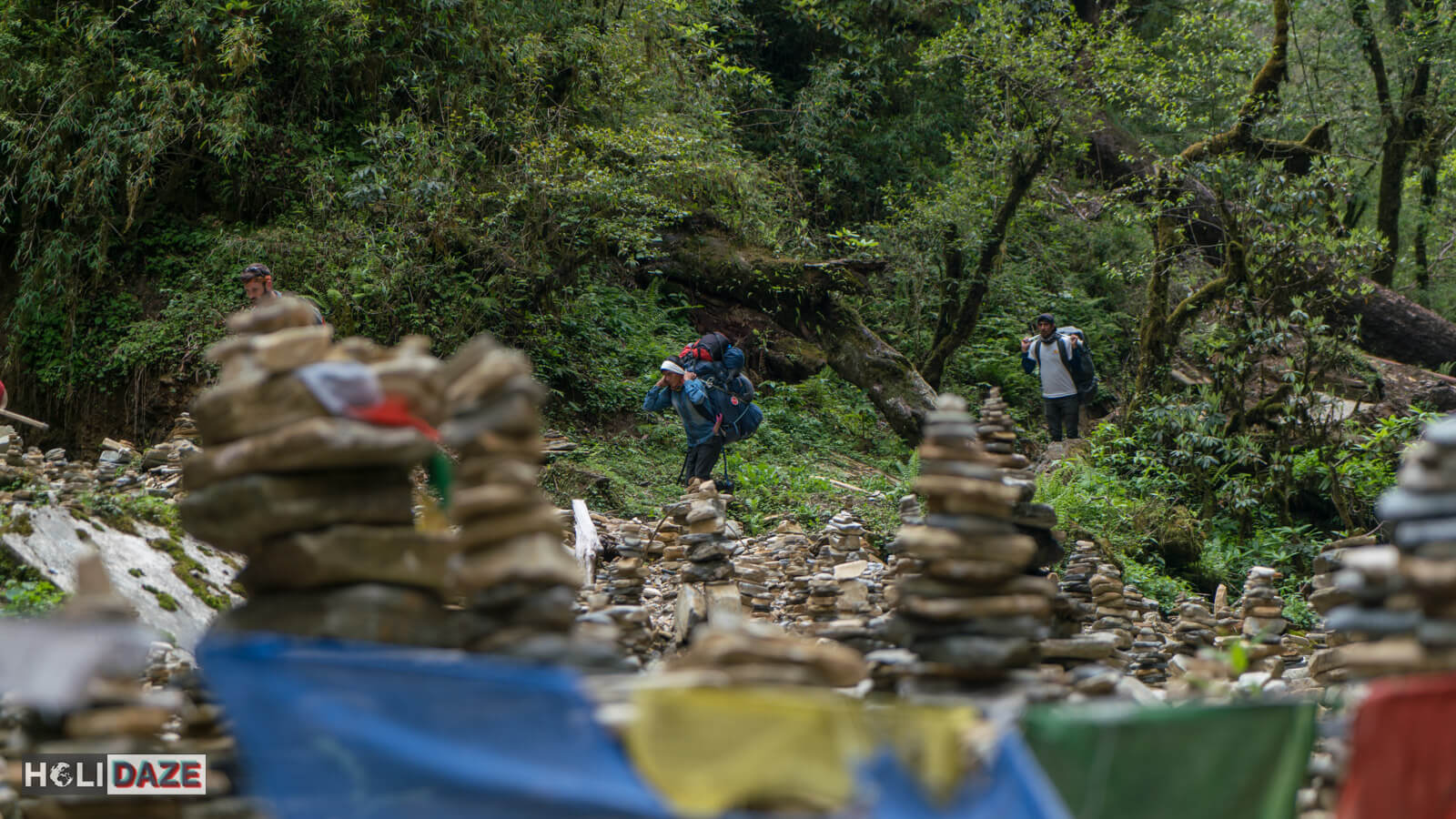 Sherpas are a must when trekking Annapurna in Nepal