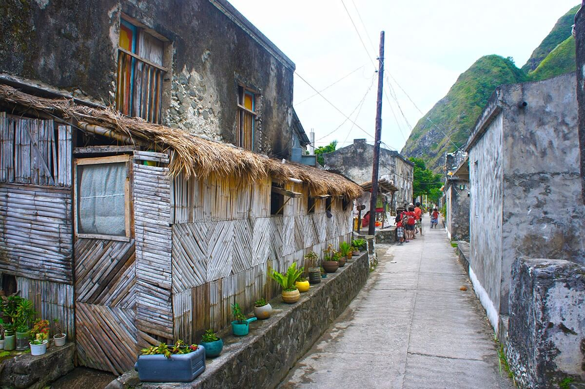 Chavayan village on Sabtang island, Batanes, in the northern Philippines